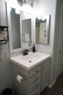Bathroom Cabinet Makeover Ideas by Best 20 Bathroom Vanity Makeover Ideas On