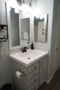 Best 20  Bathroom vanity makeover ideas on Pinterest