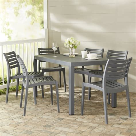 melissus  piece dining set reviews allmodern