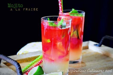 cuisine et saveurs mojito à la fraise sans alcool le cuisine