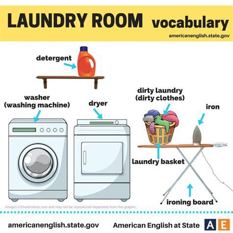 Laundry Room Vocabulary  English Language, Esl, Efl