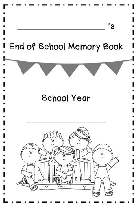 preschool activity books free download free printable grade memory book my memory book 10 171