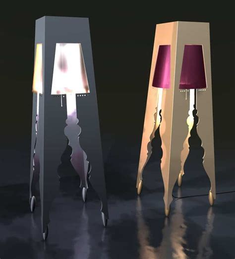 Between Modern and Traditional: Unique Floor Lamp Design