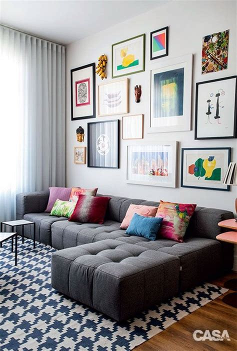 Decorating Ideas Walls Living Room by 40 Simple But Fashionable Living Room Wall Decoration