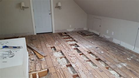 subfloor planks wood repurposing old subfloor planks home improvement stack exchange