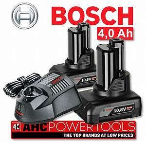 Bosch 10 8v : bosch gba 10 8v 4 0ah li ion batteries x 2 plus al1130cv charger set ebay ~ Orissabook.com Haus und Dekorationen