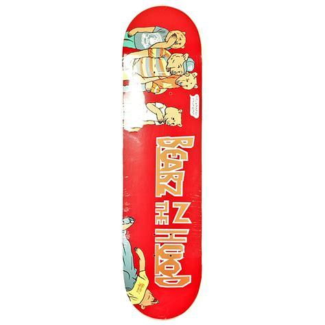 grizzly skate decks grizzly x skate mental bearz in the deck 8 125