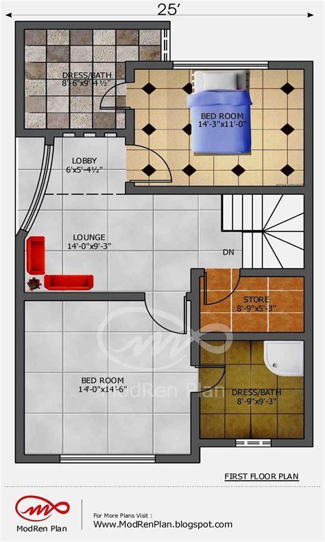 marla house plan  sq ft  feetwwwmodrenplan