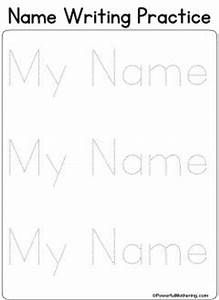 17 best images about busy book letters on pinterest With free printable name tracing templates