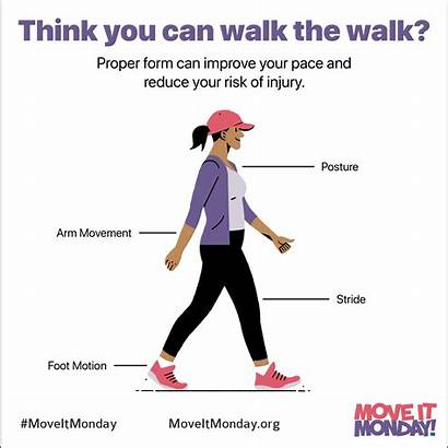 Walking Proper Correctly Walk Form Monday Technique