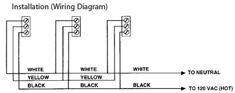 120 Volt Ac Wiring Diagram by Firex 41216 Ac Smoke Alarm Detector With Led Indicator