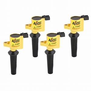 Accel 140505-4 Ignition Coil - Supercoil  2 3l