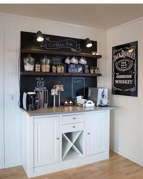 Bar ideas #coffee station ideas you need to see (coffe bar ideas) #coffeebar. Coffee bar #coffeebarideas in 2020   Coffee bar home, Coffee bar design, Coffee bars in kitchen