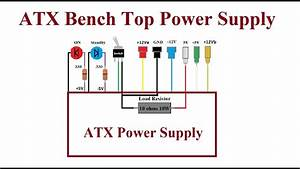 Atx Computer Bench Top Power Supply  - Step By Step