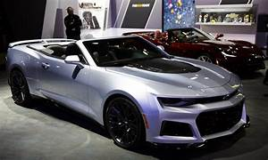 2017 Chevrolet Camaro ZL1 convertible and fastback ...