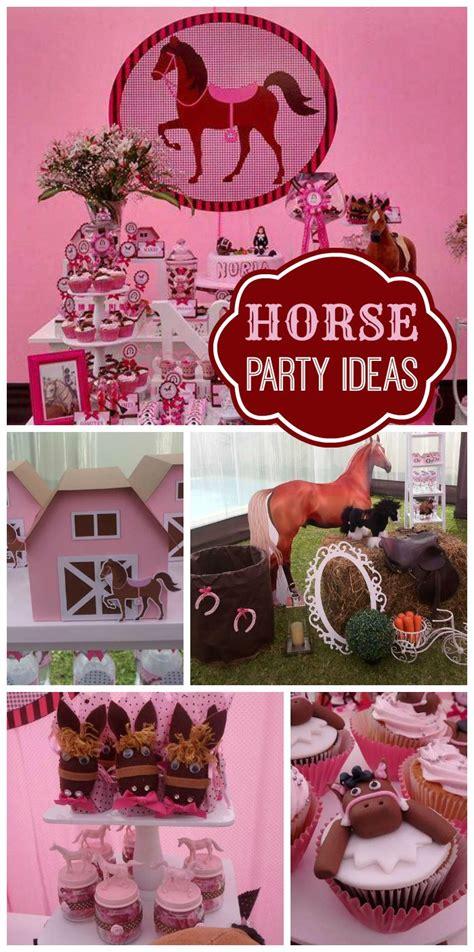 Best 25+ Horse Birthday Parties Ideas Only On Pinterest