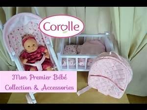 Bébé Corolle Youtube : corolle mon premier bebe calin doll accessories youtube ~ Medecine-chirurgie-esthetiques.com Avis de Voitures
