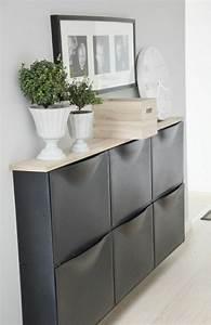 Meuble Chaussure Gris : meuble chaussure gris ~ Teatrodelosmanantiales.com Idées de Décoration