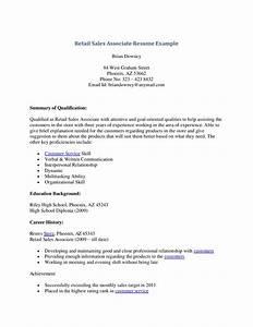 Sales Associate Job Description Resume | The Best Letter ...