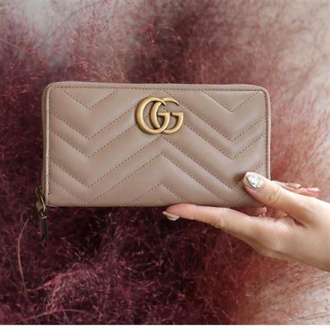 Gucci Wallet leather พร้อมส่ง 4 สีเลยจ้า หนังสวยเหมือนแท้ ...