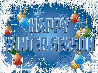 Winter Wallpapers Desktop Happy Season Background Christmas