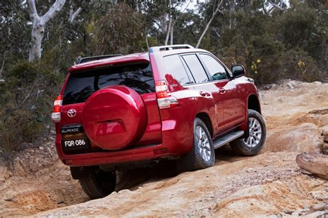 toyota prado rear  quarter launched  australia