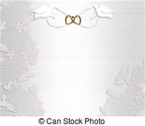 Wedding invitation border white 3d illustrated ornamental
