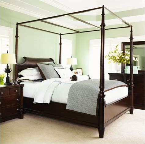 canopy bed for adults 22 best images about master bedroom on pinterest tufted bed long curtains and cindy crawford home