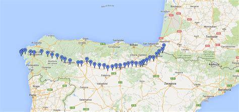 camino santiago map el camino de santiago map carcinoid cancer foundation