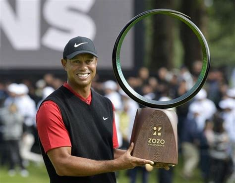 Woods wins in Japan, ties Snead for PGA Tour record ...
