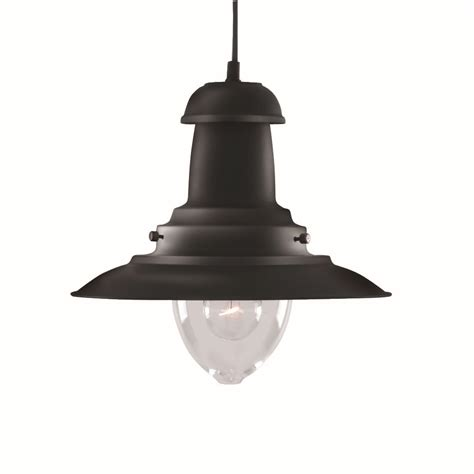 fisherman lantern ceiling light black