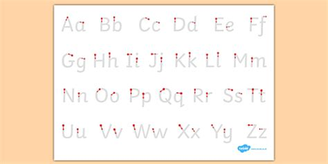 letter formation alphabet handwriting sheet uppercase and
