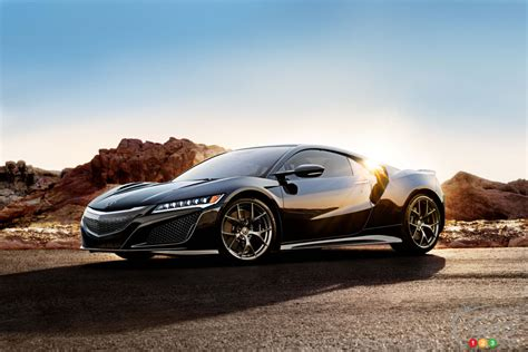 acura nsx is road track s performance car of the year