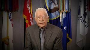 Jimmy Carter Sends Video Message to the Democratic ...