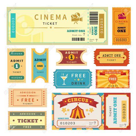 descargar caña template psd boletos de cine para invitacion buscar con google cine