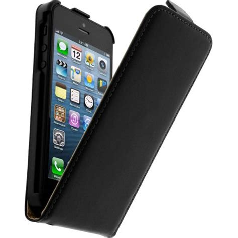housse protection iphone 5 housse clapet cuir apple iphone 5 5s etui protection noir pas cher