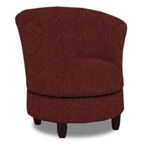 dysis swivel chair in burgundy nebraska furniture mart