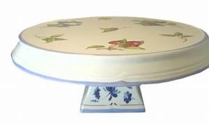 Tortenplatte Mit Fuß : tortenplatte auf fu villeroy boch cottage ca 38 5 cm h he ca 15 cm ebay ~ Frokenaadalensverden.com Haus und Dekorationen
