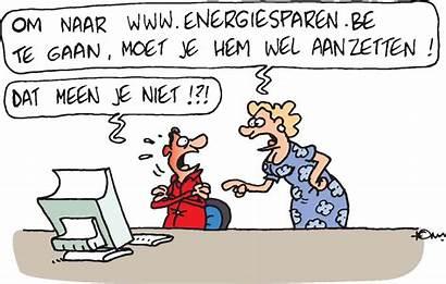 Humor Energie Duurzame Funny Cartoon Cartoons Groene