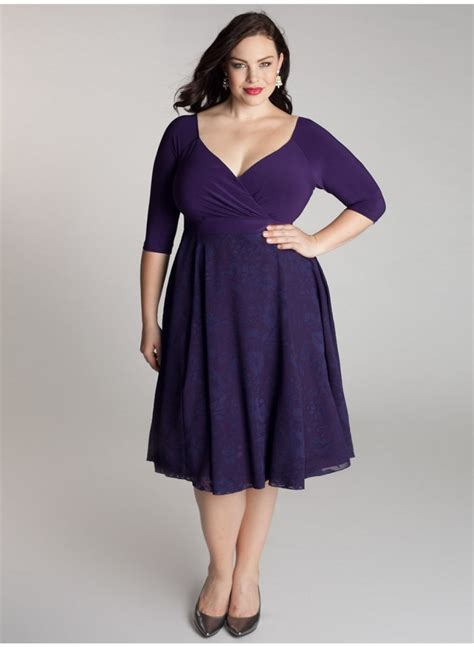 Cocktail Plus Size Dress  New Fashion Collection