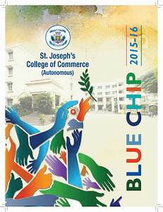 Blue Chip 2015 16 - Annual Magazine of St. Joseph's ...