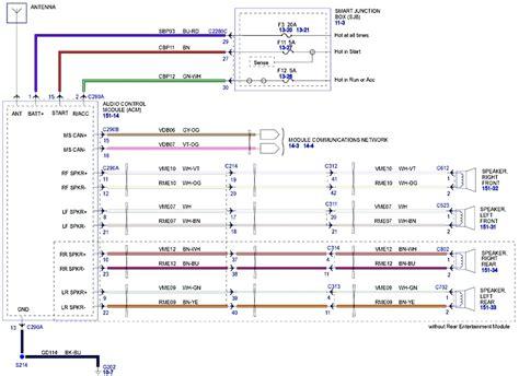 Ford Fusion Stereo Wiring Diagram Camizu