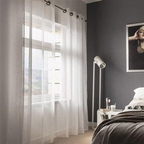 deco maison interieur rideaux et voilages viac ako 25 250 plne najlepš 237 ch n 225 padov na t 233 mu voilage blanc na pintereste voilage gris lit