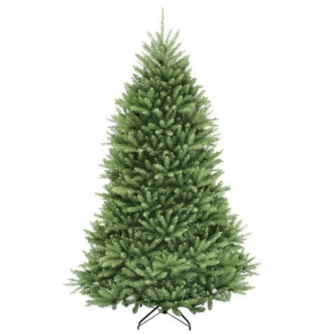 dunhill artificial tree corporation national tree company 7 5 ft dunhill fir hinged artificial tree duh 75 the home depot