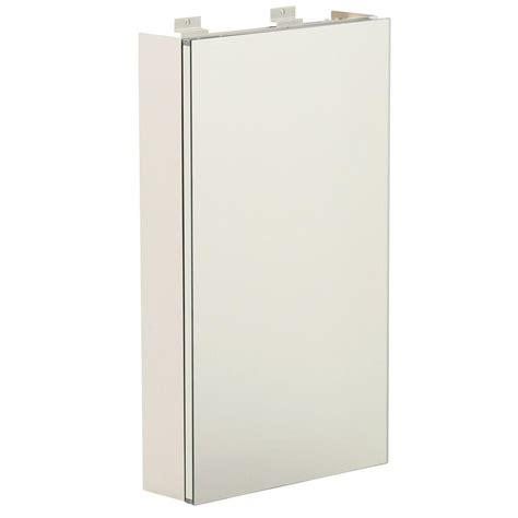 Glacier Bay Medicine Cabinet Mirror by Glacier Bay 15 In W X 26 In H Frameless Surface Mount