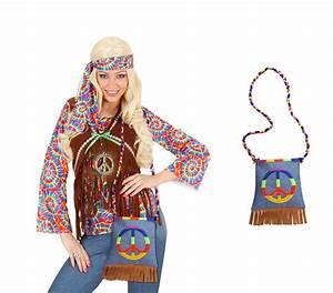 Hippie Look 70er : hippie handtasche 70er jahre bunte flower power peace tasche fasching scherzwelt ~ Frokenaadalensverden.com Haus und Dekorationen