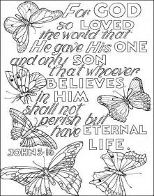 Awana Sparks Coloring Pages John 3 16