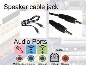 Computer Audio Connectors Color Code