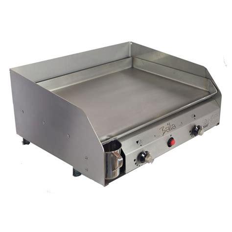 cuisiner la plancha gaz plancha à gaz baila tout inox