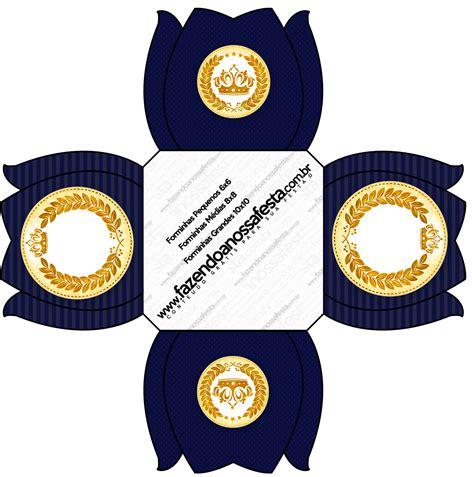 kit festa completo coroa de principe azul marinho 2 13